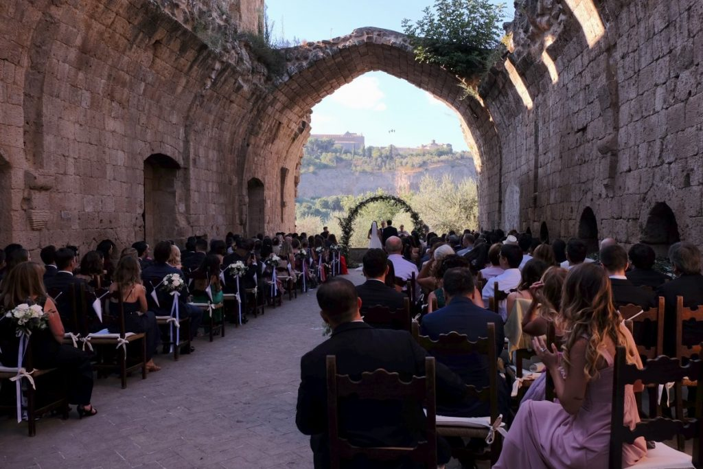Wedding Officiant La Badia Orvieto