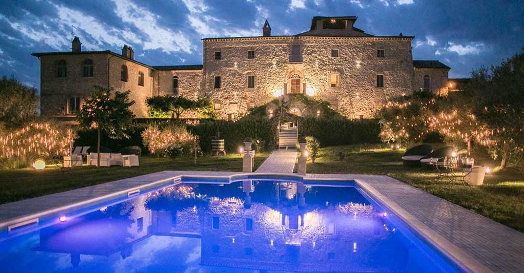 Castle in Umbria